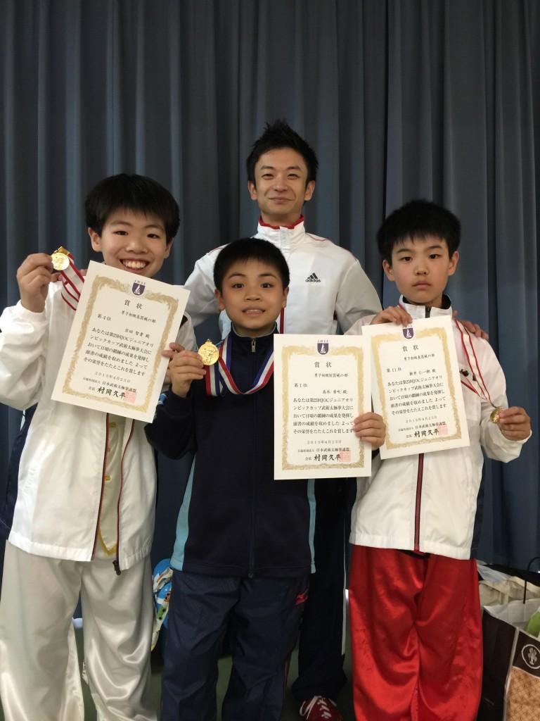 JOC入賞選手